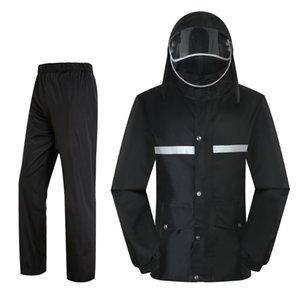 Mens Overalls Raincoat Motorcycle Rainstorm Raincoat Jacket Pantalon Moto Impermeable Riding Waterproof Rider Rainsuit R5C167