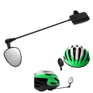 Nueva llegada 2018 plana del casco de ciclista espejo montado en el casco retrovisor de la bici de accesorios caliente F20 Venta