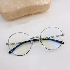 2020 Новый HC2186 металл очки Exqusite дизайн цепь круговой моды очки кадр 5022-140 очки по рецепту кадров полный ящик высокого качества