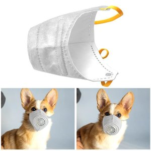 New Dog Mask Pet Shampoo Dog Mask Respirator Soft Face Cotton Mouth PM2.5 Filter Anti Dust Gas Pollution