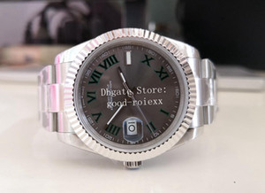 12 Style Men's Sapphire Crystal Glass BP Factory V2 Versión Automático 2813 Reloj Hombres Steel Fecha 126334 Wimbledon 41mm Buceo Luminoso Relojes