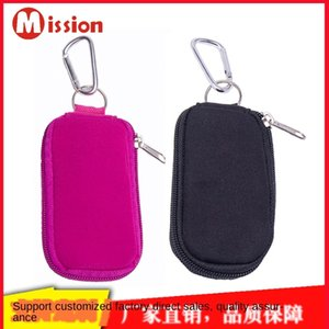 10-grid Mini Storage can key ring hold 2ml Dorry essential oil cosmetic bag carry-on key ring essential oil bag