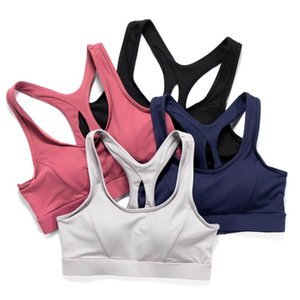 Criss-Cross Adjustable Back yoga bra tops for women girl Padded Strappy high Support Sports Yoga Bras with Removable Cups Running Activewear