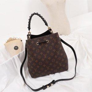 2020 New Arrival Womens Bags Fashion Classic Style High Quality Messenger Bag Luxury Type Leather Bucket Bag Handbag Drawstring Shoulder Bag