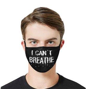 Máscara de pano de algodão Dustproof face tampa da embalagem individual Unisex Designer Máscara reutilizável lavável frete grátis DHL