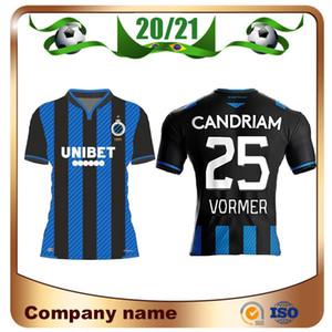 20/21 Brugge Fußball-Jersey-2020 Brugge KV Startseite # 9 VOSSEN # 7 SAGNA # 14O Kereke Fußball-Hemd # 20 # 23 Vanaken STERCHELE Fußball-Uniform