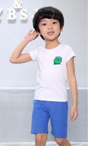 2020 fashion New Designer Brand 1-9 Years Old Baby Boys Girls T-shirts Summer Shirt Tops Children Tees Kids Clothing BMVGJ 36