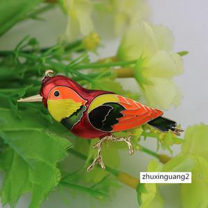 Животные Lark Брошь Pins Bird Collection Wedding Броши Pin ювелирные подарки Женщины девочек-подростков