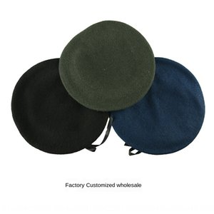 Watch performance wool children male and female woolen security army fans beret Black Army Green Beret