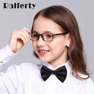 Ralferty Anti Blue Light Glasses Kids Glasses Frame Child TR90 Computer Gaming Radiation Protection Eyeglass Myopia Glass K28071