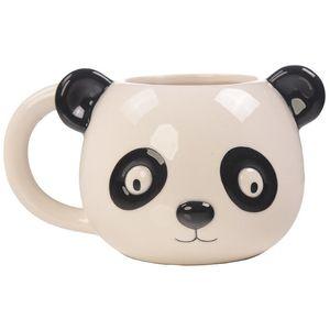 Cute Cartoon Panda Tiger Penguin Bear 3D Animal Cup Hand-painted Tea Milk Coffee Mug Ceramic Drinkware Gift T200506