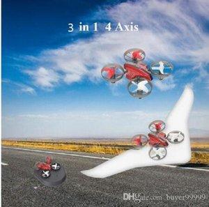 Terra Condução Fora Fly RC Quadrotor Modelo Boy presente 3 em 1 modo, Céu, Terra Remote Control RC Drone Hovercraft Asa fixa Glider