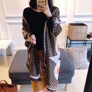 2020 donne sciarpa estate seta autunno inverno Lady Popular stile Stampa donne sciarpa pashimina scialle Foulard 1 # G13 # 2GG