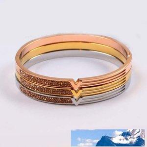 Австрийский кристалл браслеты для женщин розовое золото серебро Overlay моды Европейский нержавеющей стали Браслеты Новые Женщины Лаки Стар Jewelry