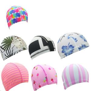 Нейлон Swim Cap Wading Спорт Hat купальник душ шапка с оберточной бумагой карточки Headgear ванной отель Бассейн для взрослых только 0 9dm B2