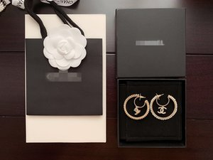 Designer women earring 2020 new classic letter fashion luxury earring with box free shipping 070476