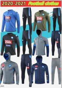 Napoli 2020 del chándal Hamsik Insigne Callejón Zielinski 20/21 SSC Nápoles larga serie chaqueta de cremallera de fútbol traje de tamaño S-2XL