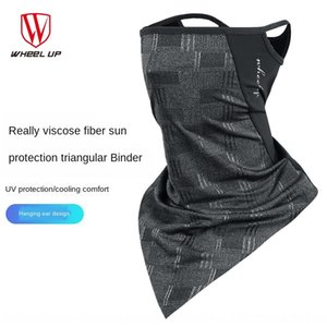 Cycling mask ice silk collar magic scarf ear-hanging triangle Triangle bicycle Bicycle bicycletowel outdoor sunscreen face towel