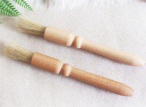 Hot Housekeeping Home Coffee brush Coffee Grinder machine Cleaning Brush Wood Handle Natural Bristles Wood Dusting brush