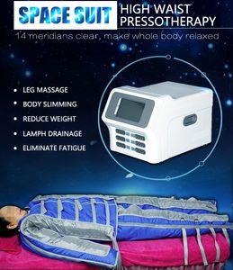 2020 más nuevo 3 en 1 Presoterapia infrarrojo lejano infrarrojo Máquina de drenaje linfático que adelgaza la máquina Traje CE / DHL envío rápido