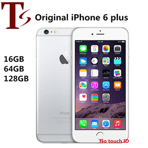 Refurbished Original Apple iPhone 6 Plus Without Fingerprint 5.5 inch A8 16 64 128GB ROM IOS 8.0MP Unlocked LTE 4G Phone