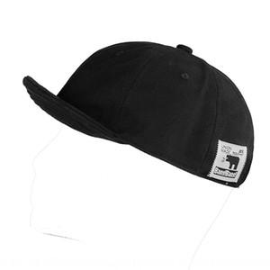 Korean style short male soft top short brim Street Tide brand baseball female brim small edge hat flip hat Baseball cap flip cap