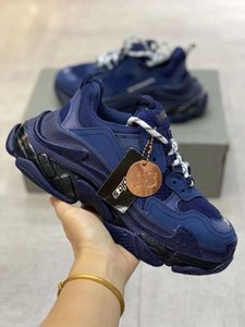 2020 Luxury Triple S Designer Sneaker Combination Soles Boots Mens Womens Shoes Top Quality Sports Casual Shoe chaussures