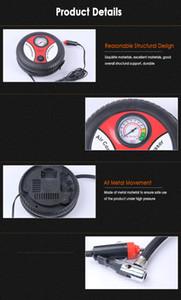 best seller Car air pump 260PSI DC 12V Auto Pump Portable Electric Mini Tire Inflator Air Compressor dropship