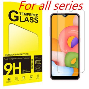 Screen Protector for iPhone 11 Pro Max XS Max XR Tempered Glass for iPhone 7 8 Plus LG Samsung Protector Film 0.33mm Paper Box