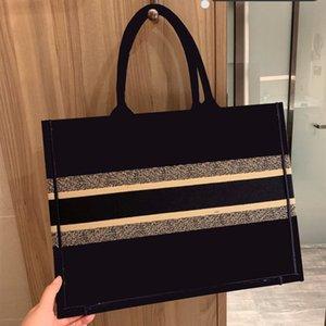 كتاب قماش الشهيرة حقيبة تسوق أكياس CROSSBODY مطرزة حمل حقيبة ذات جودة عالية حمل حقيبة حقيبة يد نسائية حقائب الكتف محفظة محفظة