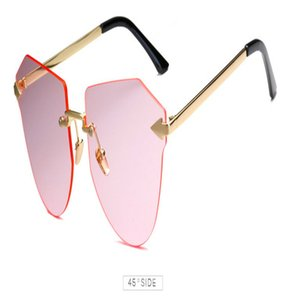 Arrow Frameless gold Sunglasses Square Frameless titanium glasses frame men optical glasses frame women Retro eyeglasses frame Women's ysJbF