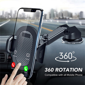 Car Phone Holder 360 Mount in Car Stand No Magnetic Support Mobile Cell Cellphone Smartphone For iPhone X Max Xiaomi