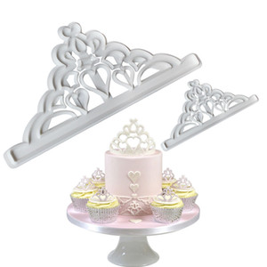 2ps Durable Food Grade Baking Molds Imperial Crown Cutting Die Making Cream Cake Biscuit Mould Bakeware HotSale 1 4hr D2