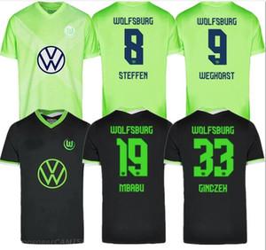 VfL Wolfsburg Heimtrikot WEGHORS Maillots de football 2020 21 KLAUS MALLI STEFFEN MEHMEDI ROUSSILLON BROOKS ARNOLD Chemi Brekalo Football