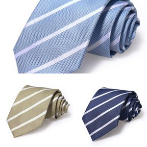 Straight Straight men's business casual business casual tie versatile striped polyester men's tie tie