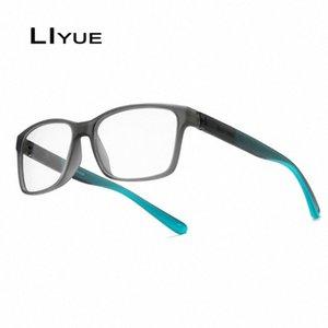 moda myopia gözlük reçete gözlük Net Bilgisayar 4Uqn # gözlük kare jant optik gözlük gözlük çerçevesi erkekler TR90