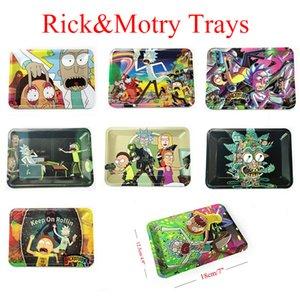 vassoio di rotolamento Bob Marley vassoio 18 * 12.5 * 1.5cm metallo pipe carte si mescolano foglia modello