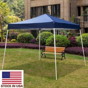 Outdoor Camping Tent 3 x 3M Portable Picnic tende pieghevoli impermeabile tenda Partito freddo tende Blue Beach Pergola giardino di alta qualità Tenda Gazebo