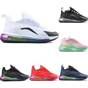 Avec la boîte 2020 Dccxx Motif creux maille respirante Chaussures de sport originale Dccxx arc-en-Gradient Air Zoom Rembourrage Chaussures Jogger