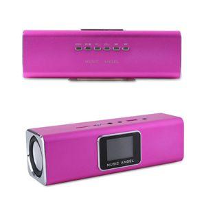 원래 100 % 새로운 음악 천사 JH-MAUK5 휴대용 스피커 LED 스크린 디지털 스피커에서 오디오 FM 라디오 USB의 SD / TF