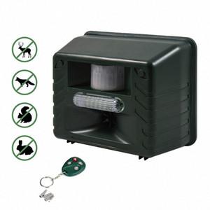 원격 제어 쥐 사슴, 고양이, 개 ,, 모 2OSu 번호와 초음파 야외 동물 드라이브 스트로브 Led 빛 펠러 드라이브 설치류 장치