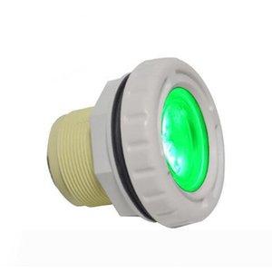 تحت الماء LED أضواء IP68 سبا حمام سباحة مصباح 3W 9W لاينر الخرسانة نافورة مصباح 12V الأبيض أضواء RGB اللون CE روش FCC