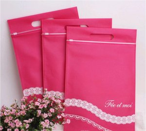 Sexy goods non-woven with slide Packaging storage Non-woven storage high-grade underwear packaging bag adult goods bag