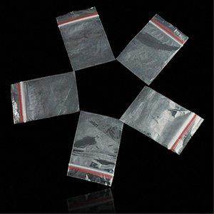 WITUSE 100 adet / Paketleme 9 Boyutları Mini Baggies Plastik Ambalaj Torbaları küçük plastik fermuar çantasını Saklama Poşetleri 2KQS #
