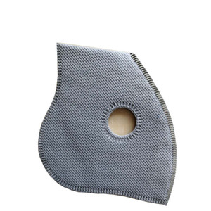 Active Carbon Filter Suitable for Cycling Face Masks 5-layer Filter Cycling Equip Outdoor Anti-dust Ptotective Filters