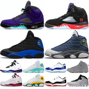 Nike Air Jordan Retro 13s 5s 11s retros shoes chaussures de basket-ball de designer pour hommes 10 Tinker Cement 10s chaussures pour hommes Cool Grey I'm Back