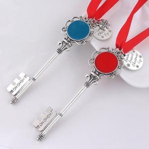 5 Stiller Noel Anahtarlık Magic Noel Baba Anahtar Noel anahtarlık kolye Süsleme Dekorasyon Noel Cadılar Bayramı hediyeler ZZA2459 300pcs