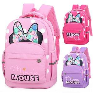 FhvIg Pupil'in okul çantası yeni çizgi film çocuk sevimli küçük kız omuz azaltıcı Ridge Pupil'in okul çantası yeni çizgi film çocuk sevimli küçük gir