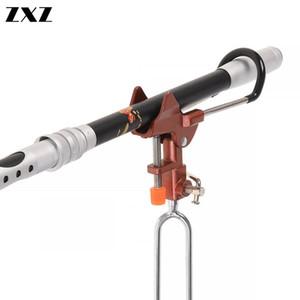 Full Acciaio regolabile automatico barre a molla Angolo di pesca Rod Palo Tackle Bracket Pesca staffa Strumenti del basamento del supporto