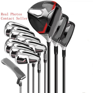 Golf clubes M e seis Full Set Golf Putter + Motorista # 3 # 5 Fairway Woods, + Golf Irons Real Fotos Contactar vendedor